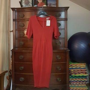ASOS red dress Size 4